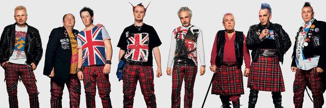 s*x Pistols fans. (Photo by James Mollison)