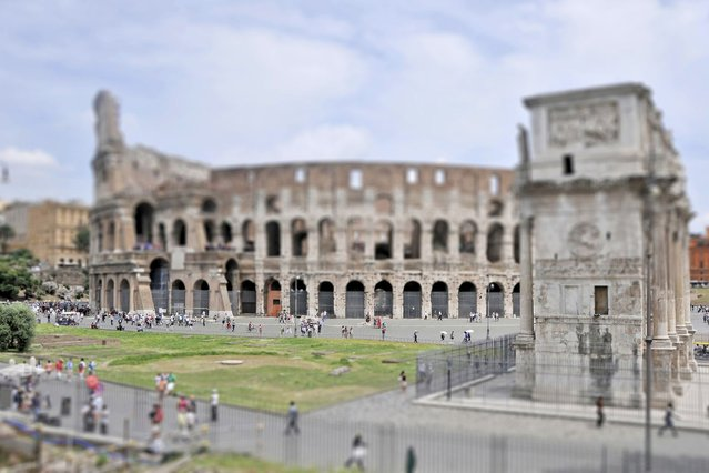 Coliseum, Rome. (Photo by Richard Silver)