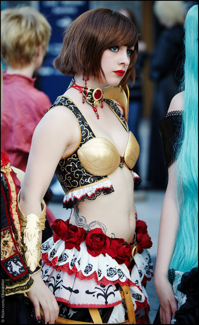 Cosplay, Leipziger Buchmesse 2013, Germany. (Photo by Einsiedler)