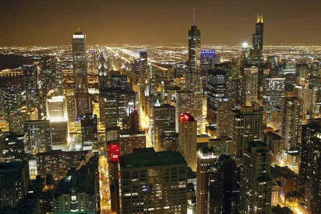 A general view of the city skyline in Chicago. (Photo by Jim Young/Reuters)