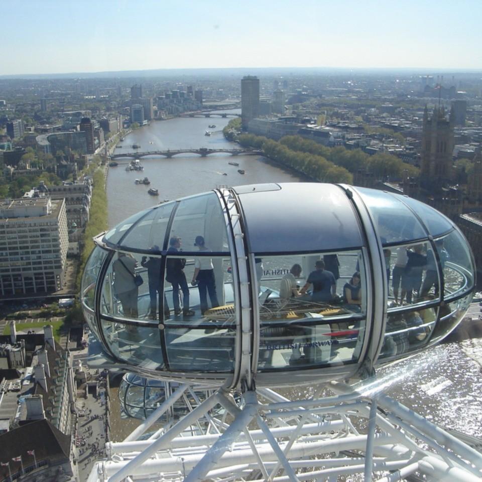 The London Eye – Giant Ferris Wheel