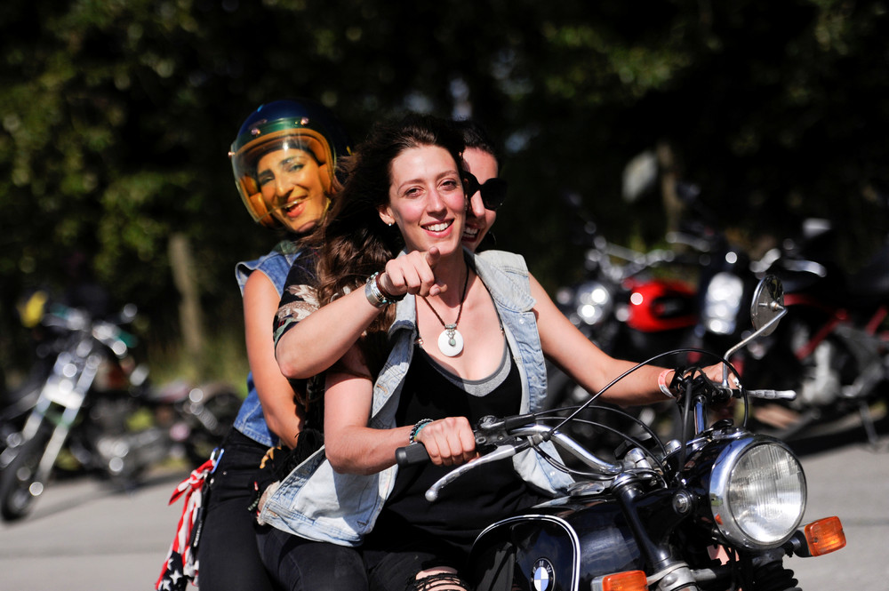 Women's-only Motorcycle Rally