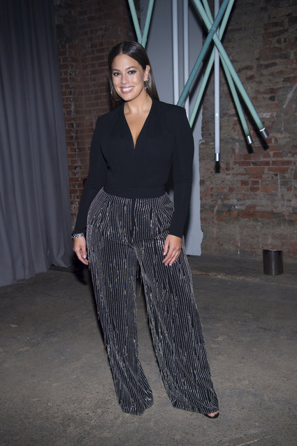 Model Ashley Graham attends the Michael Kors ACCESS Smartwatch launch event at ArtBeam on Wednesday, September 13, 2017, in New York. (Photo by Scott Roth/Invision/AP Photo)