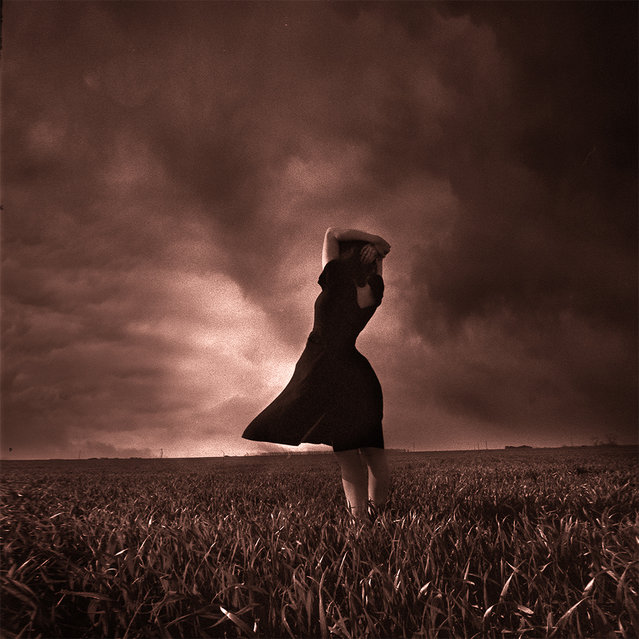 """""""Black dress"""". (Photo and caption by Yves Lecoq)"""