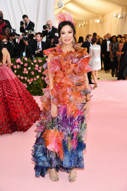 Wendi Deng Murdoch attends The 2019 Met Gala Celebrating Camp: Notes on Fashion at Metropolitan Museum of Art on May 06, 2019 in New York City. (Photo by Dimitrios Kambouris/Getty Images for The Met Museum/Vogue)