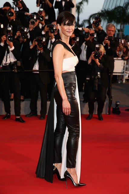 "Sophie Marceau attends the Premiere of ""The Sea Of Trees"" during the 68th annual Cannes Film Festival on May 16, 2015 in Cannes, France. (Photo by Andreas Rentz/Getty Images)"
