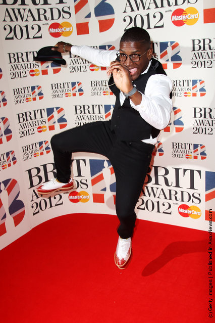 Labrinth attends The Brit Awards 2012 at The O2 Arena