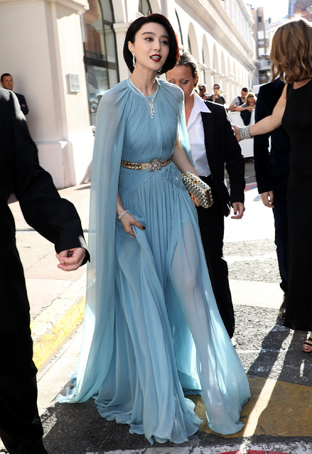 """Fan Bingbing during the """"Ismael's Ghosts (Les Fantomes d'Ismael)"""" screening and Opening Gala during the 70th annual Cannes Film Festival at Palais des Festivals on May 17, 2017 in Cannes, France. (Photo by Pierre Suu/GC Images)"""