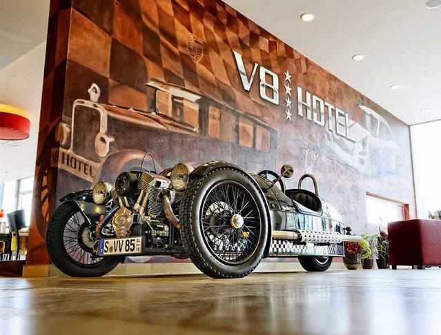 The V8 Hotel In Stuttgart, Germany