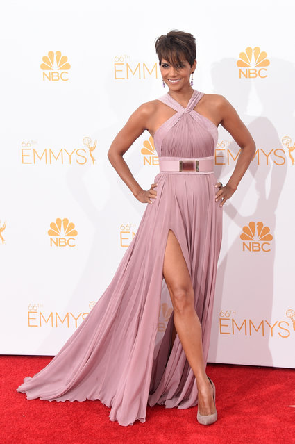 The Sexiest Woman Alive in 2008 was actress Halle Berry. Here: Halle Berry poses in the press room during the 66th Annual Primetime Emmy Awards held at Nokia Theatre L.A. Live on August 25, 2014 in Los Angeles, California. (Photo by Jason Merritt/Getty Images)