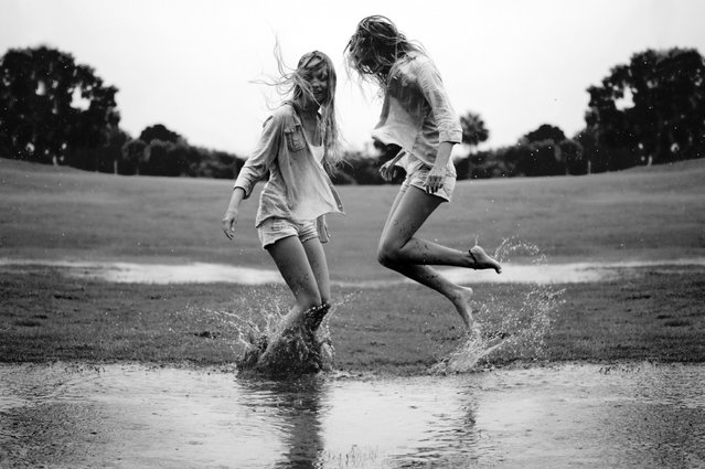 """Jumpology"". ""Joy"". (Photo by Izzy Guttuso)"