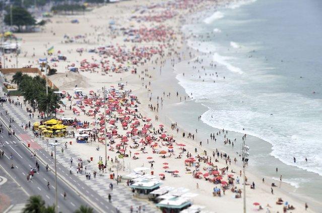 Copacabana Beach, Rio de Janeiro. (Photo by Richard Silver)