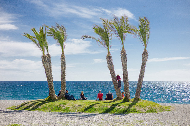 """Family Island"". Costa del Sol, 2012. (Photo by SeydenMatt)"