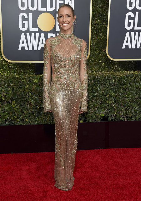 Kristin Cavallari arrives at the 76th annual Golden Globe Awards at the Beverly Hilton Hotel on Sunday, January 6, 2019, in Beverly Hills, Calif. (Photo by Jordan Strauss/Invision/AP Photo)