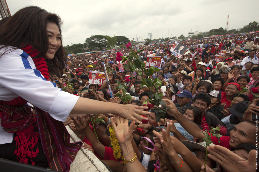Most Beautiful Women In Politics: Yingluck Shinawatra