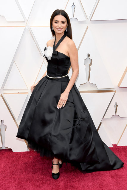 Penélope Cruz attends the 92nd Annual Academy Awards at Hollywood and Highland on February 09, 2020 in Hollywood, California. (Photo by Kevin Mazur/Getty Images)