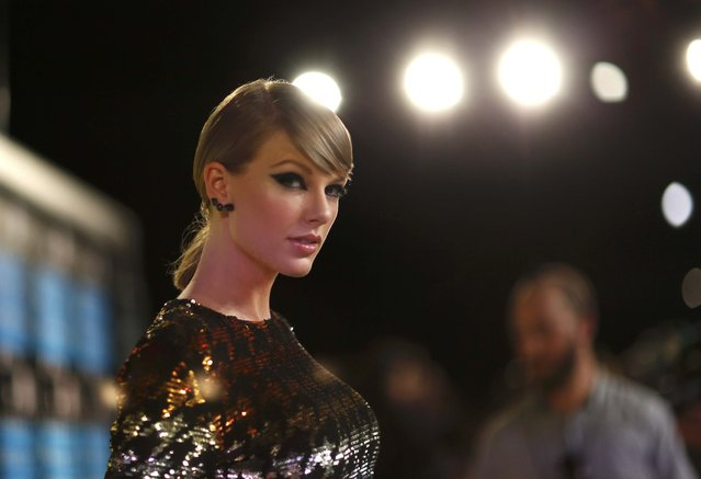 Singer Taylor Swift arrives at the 2015 MTV Video Music Awards in Los Angeles, California August 30, 2015. (Photo by Mario Anzuoni/Reuters)