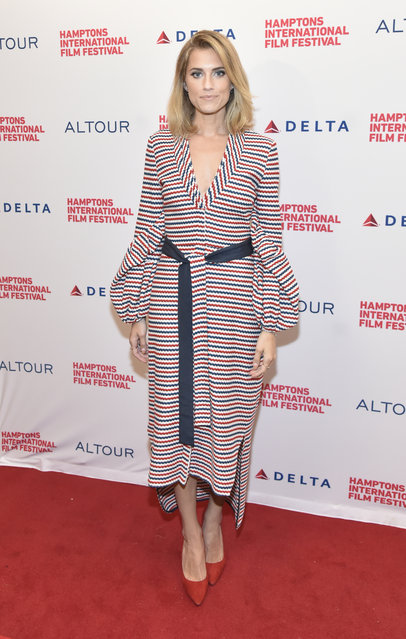 """Actress Allison Williams attends a red carpet for """"Anatomy of a Scene: Get Out"""" during Hamptons International Film Festival 2017  - Day Four on October 8, 2017 in East Hampton, New York. (Photo by Eugene Gologursky/Getty Images for Hamptons International Film Festival)"""