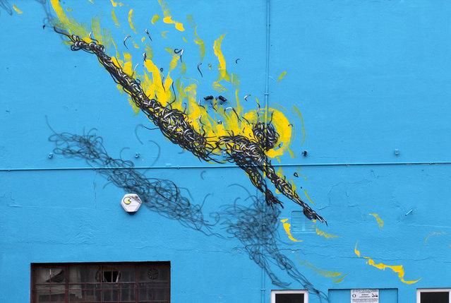 Street Art By DALeast