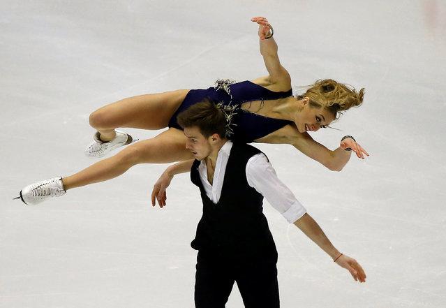 Figure Skating, ISU Grand Prix of Figure Skating NHK Trophy 2016/2017, Ice Dance Short Dance, Sapporo, Japan on November 26, 2016. Victoria Sinitsina and Nikita Katsalapov of Russia compete. (Photo by Issei Kato/Reuters)