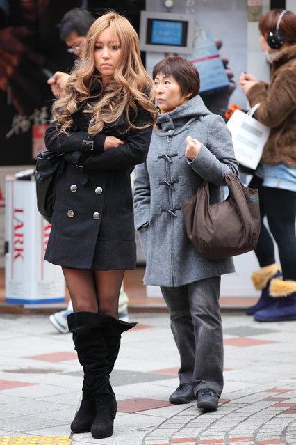 """Shibuya contrasts"". Shibuya, 2012. (Asian (Street) Impressions)"