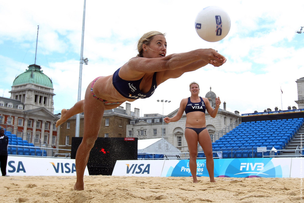 LOCOG Test Events for London 2012: VISA FIVB Beach Volleyball International