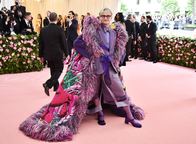 Hamish Bowles attends The 2019 Met Gala Celebrating Camp: Notes on Fashion at Metropolitan Museum of Art on May 06, 2019 in New York City. (Photo by Theo Wargo/WireImage)