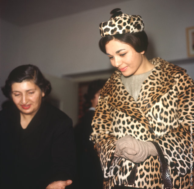 Empress Farah Pahlavi of Iran in 1961