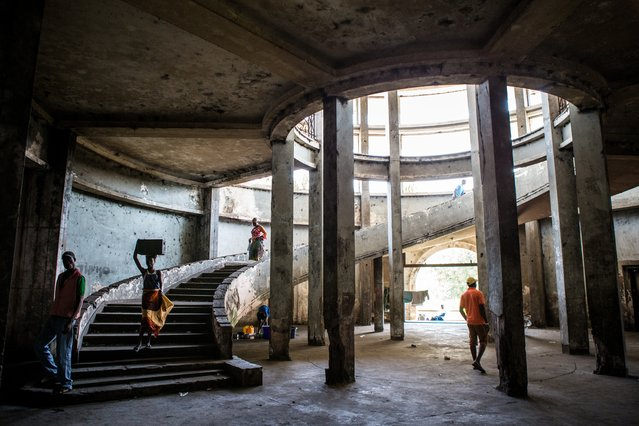 It had a great stairway, hall, shops, restaurants, post office, cinema, bar and 122 rooms. (Photo by Fellipe Abreu/The Guardian)
