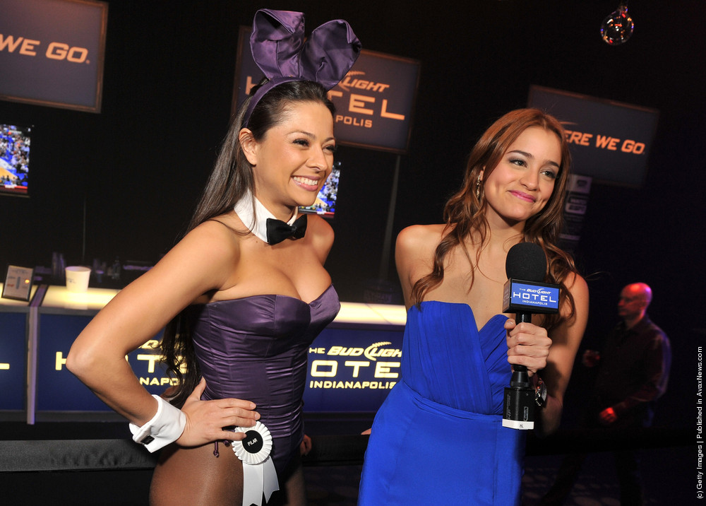 Bud Light Hotel Hosts the 2012 Playboy Party