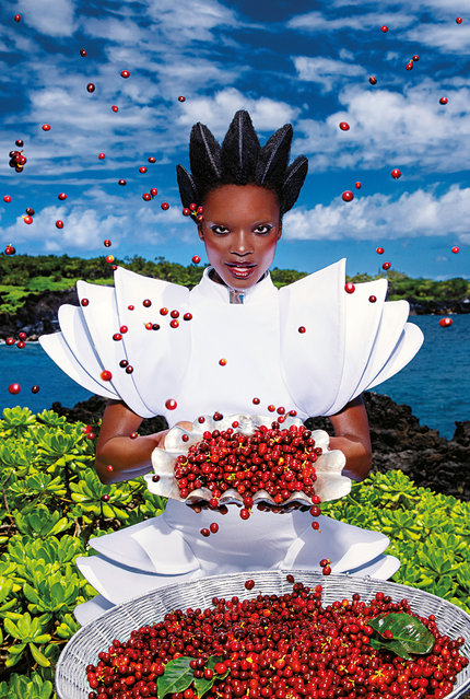 Listen – February. (Photo by David LaChapelle/The Guardian)