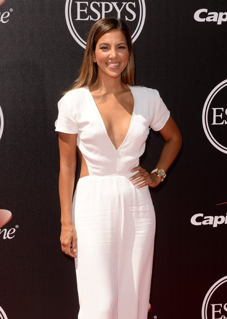 TV personality Liz Hernandez attends The 2014 ESPYS at Nokia Theatre L.A. Live on July 16, 2014 in Los Angeles, California. (Photo by Jason Merritt/Getty Images)