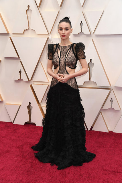 Rooney Mara attends the 92nd Annual Academy Awards at Hollywood and Highland on February 09, 2020 in Hollywood, California. (Photo by Jeff Kravitz/FilmMagic)