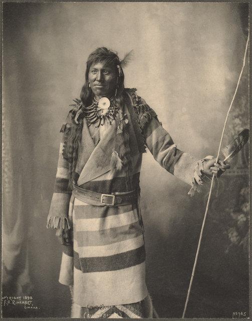 Four Bull, Assinaboines, 1899. (Photo by Frank A. Rinehart)