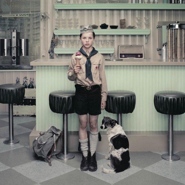 The ice cream parlour. (Photo by Erwin Olaf)