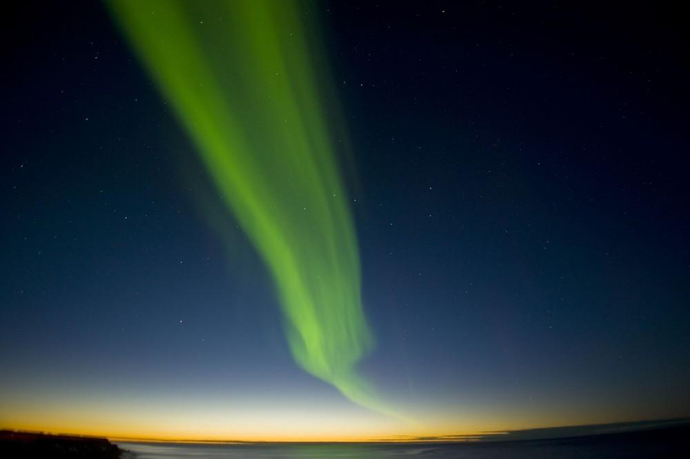 Incredible Auroras Form in Alaska