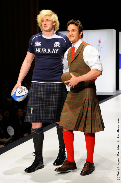 Richie Gray and Thom Evans