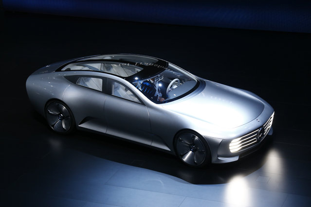 Mercedes-Benz Concept IAA car is presented during the media day at the Frankfurt Motor Show (IAA) in Frankfurt Tuesday, September 15, 2015. (Photo by Ralph Orlowski/Reuters)