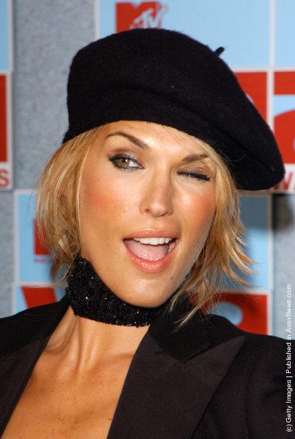 Winking Model Molly Sims