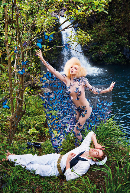 Realise – March. (Photo by David LaChapelle/The Guardian)