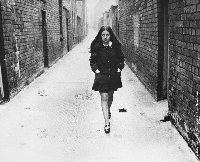 1969: Independent Unity MP for Mid-Ulster and youngest MP in Britain Bernadette Devlin in Belfast