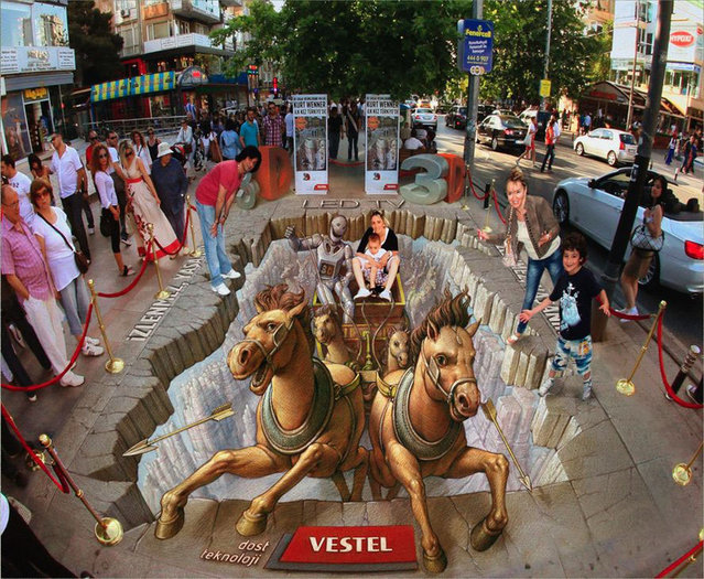 3d Street Art Kurt Wenner