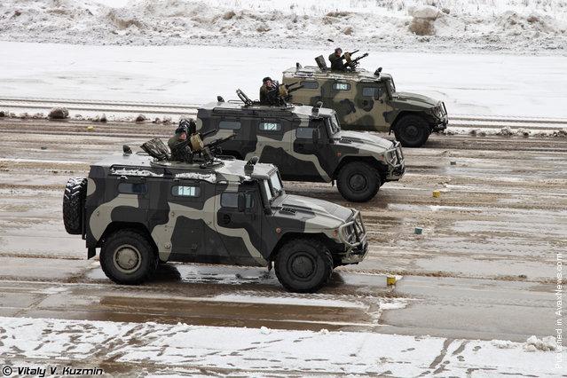 "The GAZ-2975 ""Tigr"" (Tiger)"