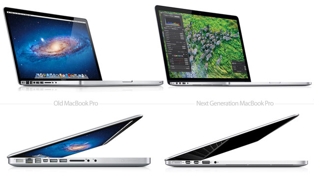 Compare the MacBook Pro with new MacBook Pro