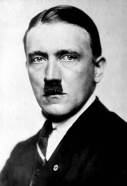 File photo dated 1923 of Adolf Hitler, who is among those who served during the Battle of the Somme. (Photo by PA/PA Wire)