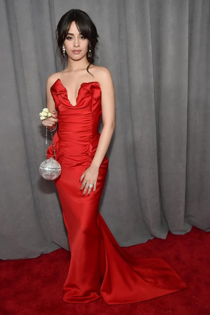 Recording artist Camila Cabello attends the 60th Annual GRAMMY Awards at Madison Square Garden on January 28, 2018 in New York City. (Photo by Kevin Mazur/Getty Images for NARAS)