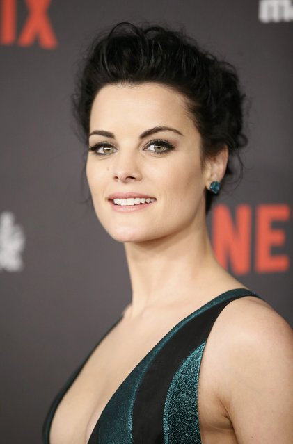 Actress Jaimie Alexander arrives at The Weinstein Company & Netflix Golden Globe After Party in Beverly Hills, California January 10, 2016. (Photo by Danny Moloshok/Reuters)