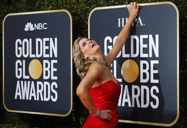 Missi Pyle arrives at the 76th annual Golden Globe Awards at the Beverly Hilton Hotel on Sunday, January 6, 2019, in Beverly Hills, Calif. (Photo by Mike Blake/Reuters)