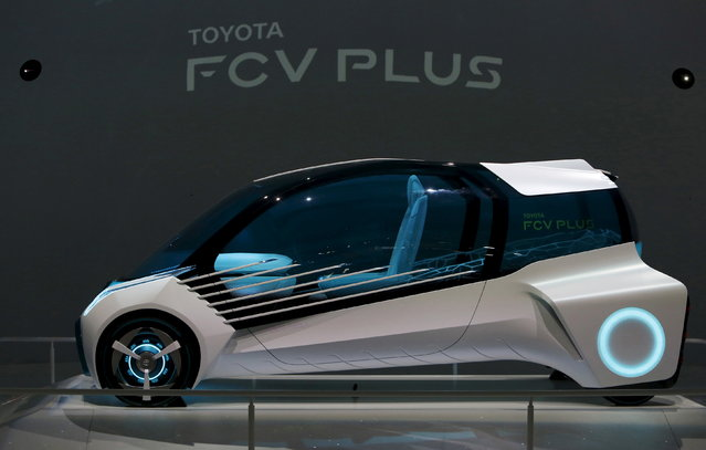 Toyota Motor Corp's concept car Toyota FCV PLUS is displayed at the 44th Tokyo Motor Show in Tokyo October 28, 2015. (Photo by Yuya Shino/Reuters)