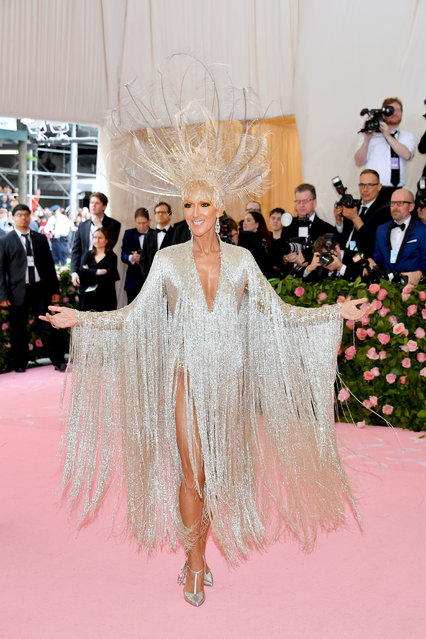 Celine Dion attends The 2019 Met Gala Celebrating Camp: Notes on Fashion at Metropolitan Museum of Art on May 06, 2019 in New York City. (Photo by Dia Dipasupil/FilmMagic)